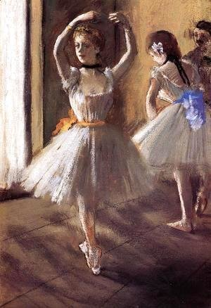 Two Dancers in the Studio I