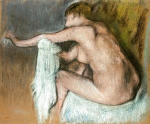 Edgar Degas - Woman Drying Her Arms