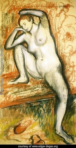Nude Study of a Dancer