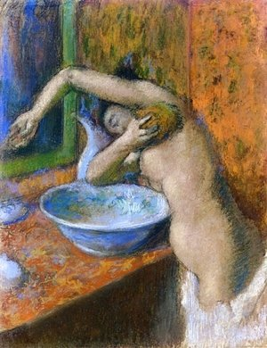 Edgar Degas - Woman at Her Toilette IV