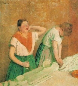 Edgar Degas - Laundresses