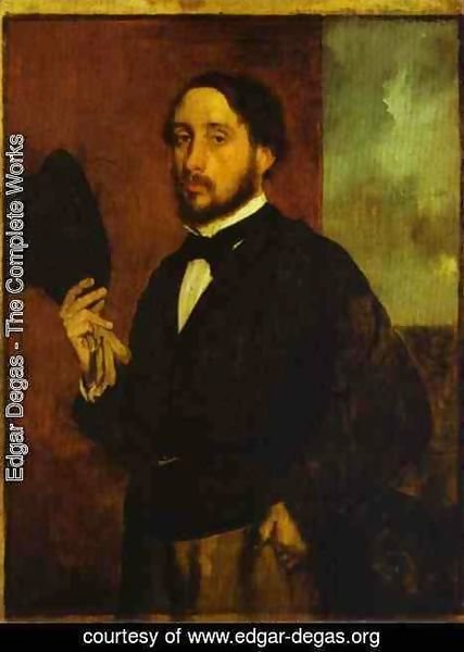 Edgar Degas - Self Portrait 2