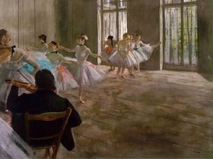 Edgar Degas - Dance School