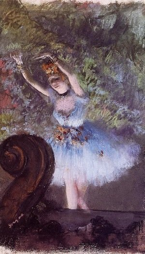 Edgar Degas - Dancer 3