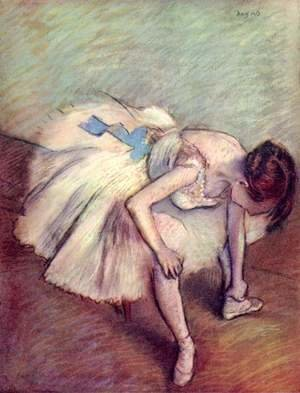 Edgar Degas - Dancer 5