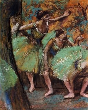 Edgar Degas - Dancers 3