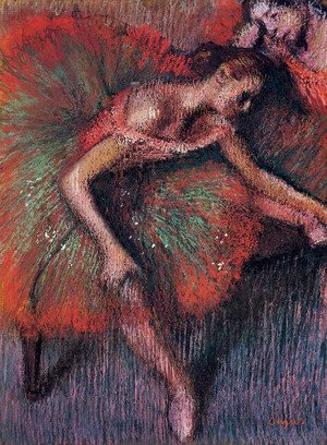 Edgar Degas - Dancers 4