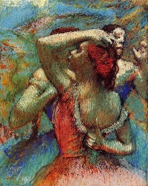 Edgar Degas - Dancers 6