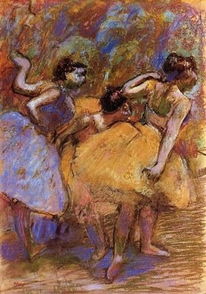 Edgar Degas - Dancers 7