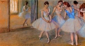 Dancers in a Studio 2