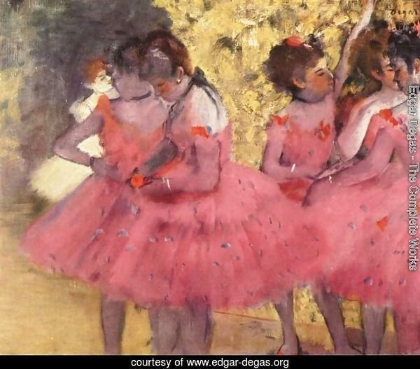 Dancers in Pink 2
