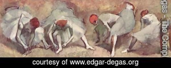 Edgar Degas - Dancers ready