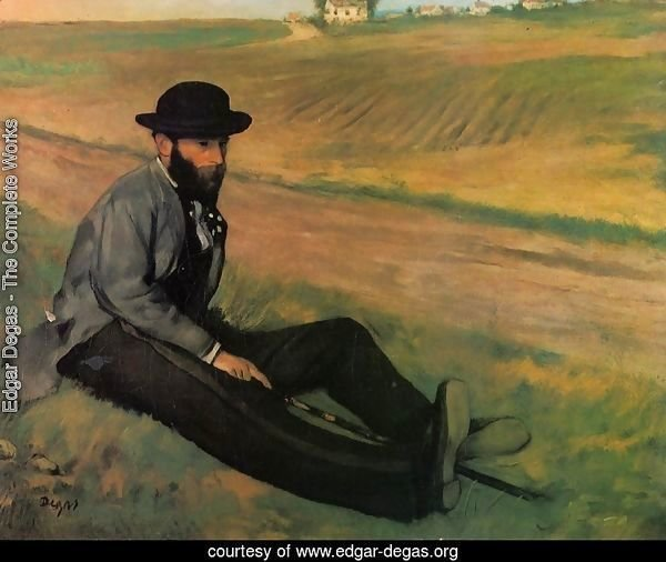 Eugene Manet (Brother to Edouard Manet