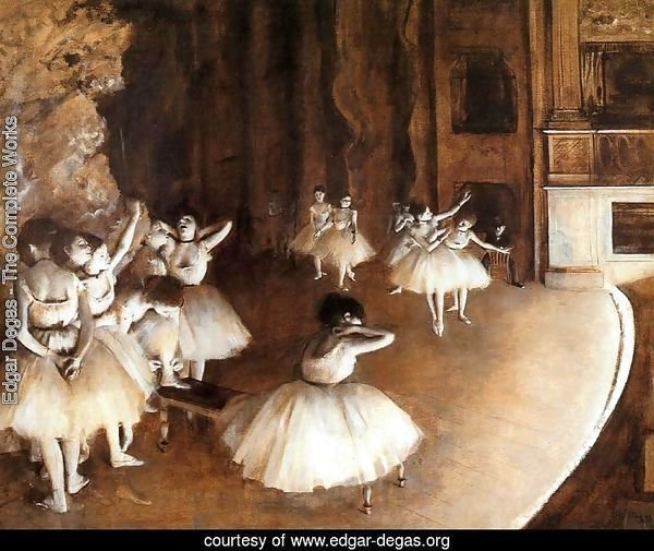 General sample of the Balletts on the stage
