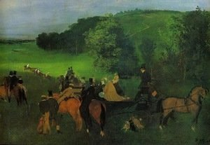Edgar Degas - On the Racing Field