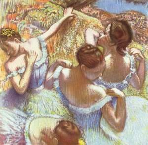 Edgar Degas - The Blue Dancers
