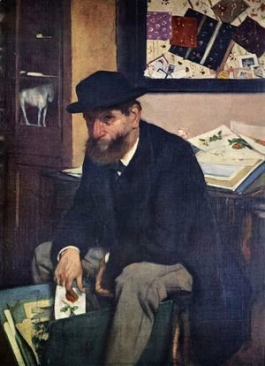 Edgar Degas - The Collector of Prints