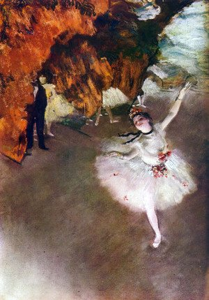 Edgar Degas - The Primaballerina