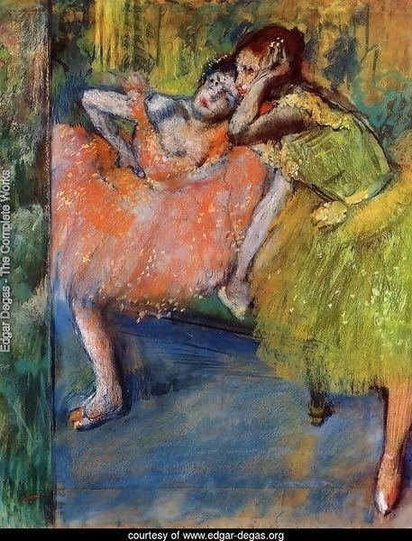 Edgar Degas The Complete Works Two Dancers In The