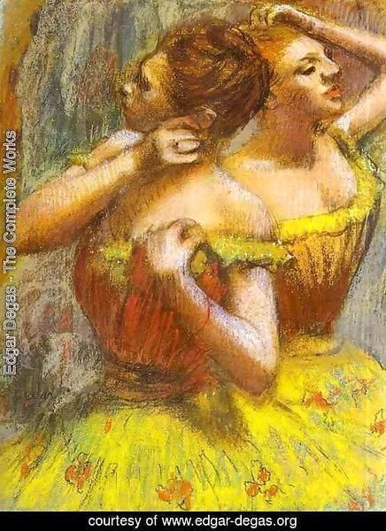Two Dancers.(Deux danseuse)