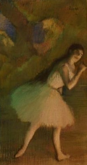 Edgar Degas - Ballet Dancer on Stage