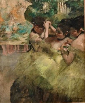 Edgar Degas - Yellow Dancers
