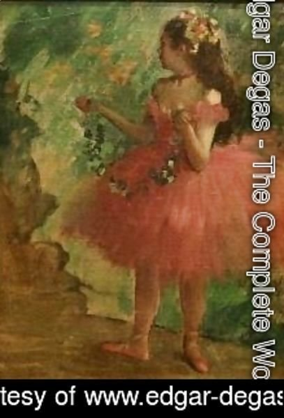 Edgar Degas - Dancer in Pink