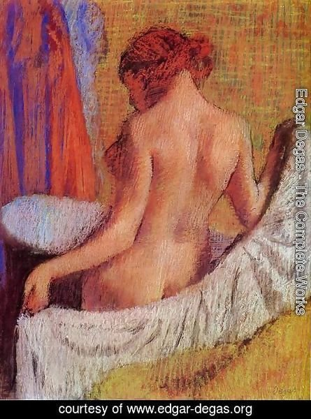 Edgar Degas - After the Bath 1890-1895