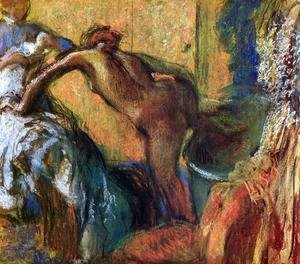 Edgar Degas - After the Bath 1895-1898