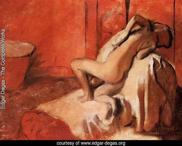 After the Bath 1896