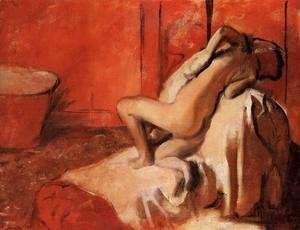 Edgar Degas - After the Bath 1896