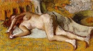 Edgar Degas - After the Bath 2 1885