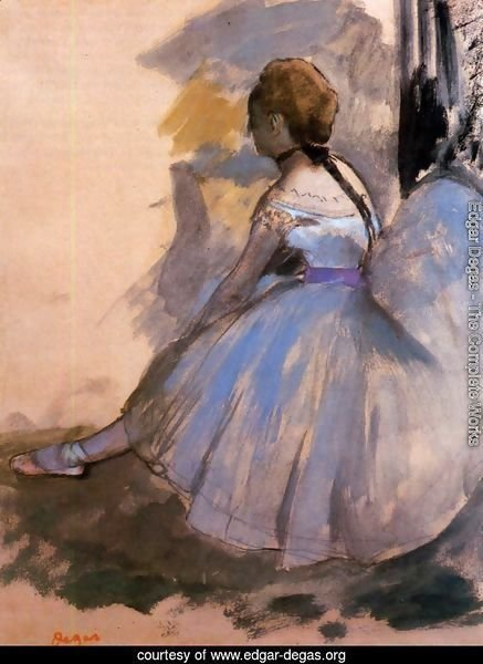 Dancer Seated (study) 1872