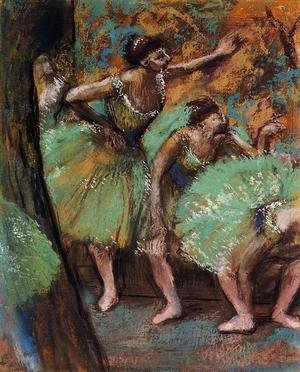 Edgar Degas - Dancers 1898