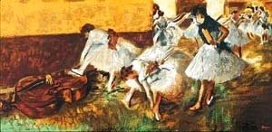 Edgar Degas - Dancers In The Green Room