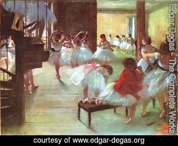 Edgar Degas - Ecole de Danse -School of Dance