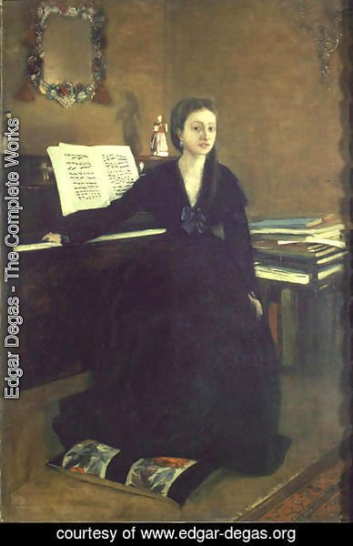 Edgar Degas - Madame Camus at the Piano