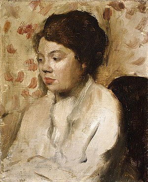 Edgar Degas - Portrait of a Young Woman ca. 1885