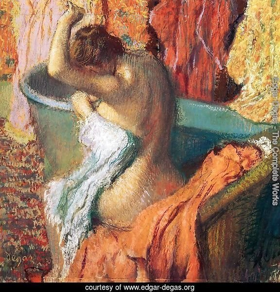 Seated Bather Drying Herself 1895