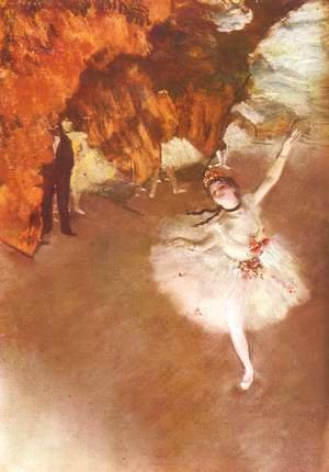 Edgar Degas - The Star (aka Dancer on Stage) 1878