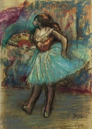 Edgar Degas - Danseuse a l'eventail