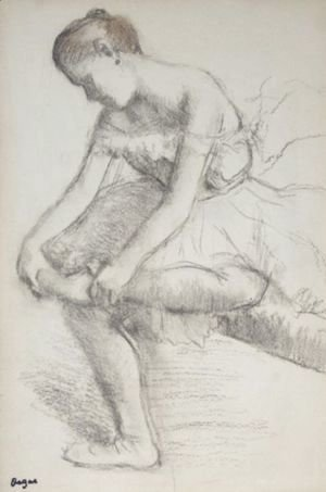 Edgar Degas - Danseuse Assise