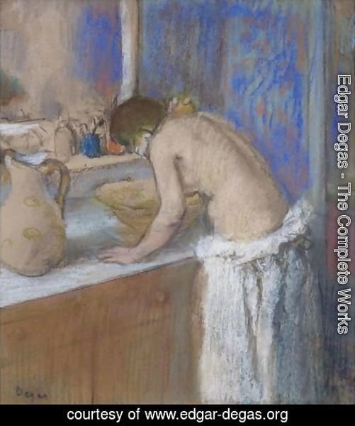 Edgar Degas - La Toilette, Fillette