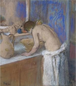 La Toilette, Fillette