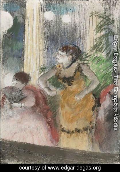 Cafe Concert By Edgar Degas Oil Painting Edgar Degas Org
