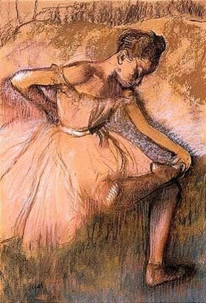 Edgar Degas - Danseuse Rose