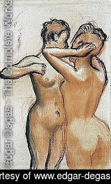 Edgar Degas - Female nude 2