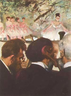 Edgar Degas - The ballet