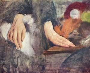 Woman in the bathtub | Edgar Degas