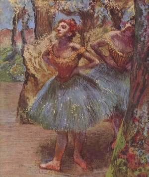 Edgar Degas - Dancers 2